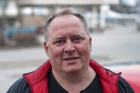 LEDER: Frank Jonny Nilsen er leder i Autsi/Silis hytteforening som har medlemmer med hytter både i Alta og Kautokeino kommuner.