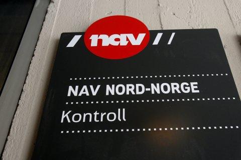 GÅR MOTTAKERE I KORTENE: Det er NAV Kontrolls avdeling i Tromsø som har i oppgave å avdekke eventuell juks blant dagpengemottakere i Nord-Norge.