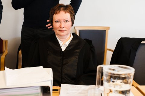 FORSVARER: Advokat Edel Hennie Olsen forsvarte den nå dømte Vadsø-kvinnen.