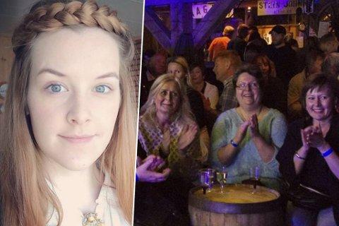 KLAR FOR FEST: Anna Margrete Bygjordet (innfelt) har lenge hatt et forhold til Chrisfestivalen og i år skal hun sørge for liv og røre i hele bygda, ikke bare på Foldal.