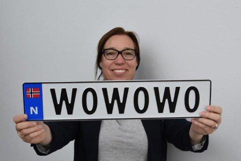 11.000: - Det er søkt om 11.000 personlige bilskilt, sier Heidi Øwre, leder av Kontor for kjøretøygodkjenning og registrering.