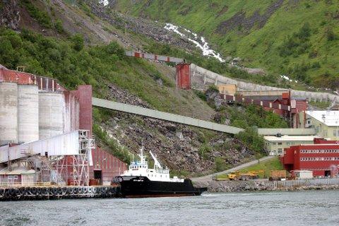 RAMMET: Driften på Stjernøya er nede for telling. Illustrasjon.