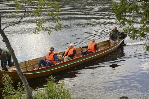 FIRE DØGN: Kong Harald reiser fra Sorrisniva til Mikkeli i løpet av ettermiddagen, og klokken 18.00 kan han og følget starte fisket i dag.