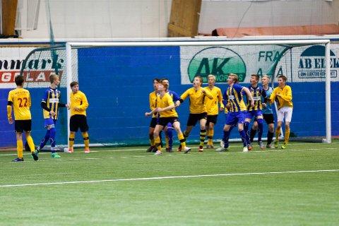 RØK UT: Alta IF 1 røk ut i semifinalen, men Alta IF 2 fikk finaleplass i Altaturneringen.