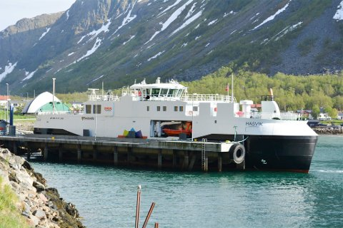 FEIL: MS «Hasvik» kan snart komme tilbake i drift etter flere uker på reparasjon.