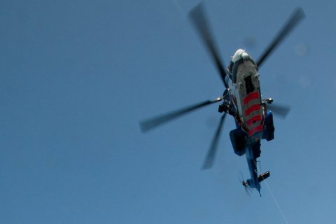 Her er et Bristow-helikopter avbildet ved en annen anledning. Illustrasjon.