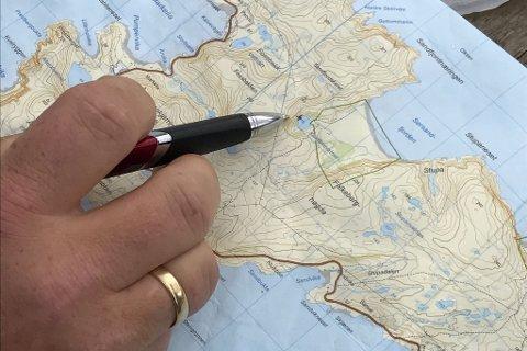 FUNNSTEDET: Her ble den savnede kvinnen funnet på Sørøya