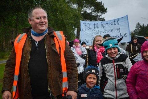 JOBBSØKER: Frank Jonny Nilsen var initiativtaker til folketogene for et akuttsykehus til Alta.