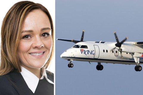 FRA FIRST HOUSE TIL FLY VIKING: Tidligere ordfører i Hammerfest, Kristine Jørstad Bock, har samarbeidet med First House. Nå jobber hun for Fly Viking.