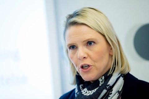Innvandrings- og integreringsminister Sylvi Listhaug (Frp). Foto: Håkon Mosvold Larsen / NTB scanpix