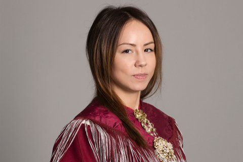NY PÅ SAMETINGET: Sandra Andersen Eira