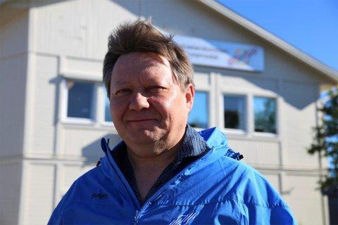 POSITIV: FeFo-direktør Jan Olli.