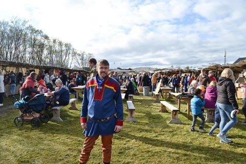 TILBAKE I SKOLEVERKET: Dag Broch har fått jobb som rektor ved Sirbmá skole.