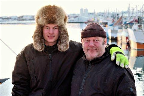 TRADISJON: Tor Einar følger familietradisjonen og følger i fotsporene til sin far, Oskar Bietilæ.