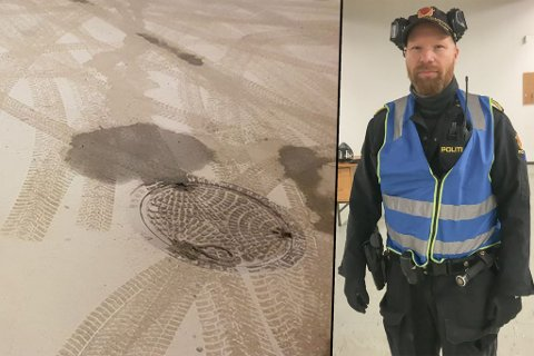 MENINGSLØST: – Mye av skadeverket i Alta er unyttig og meningsløst, og dette er klassiske pøbelstreker som går altfor langt, sier politiførstebetjent, Håvard Martinsen, ved lensmannskontoret i Alta.