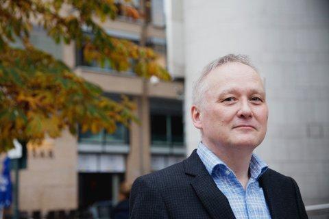MOTSTAND: Leif Gøran Wasskog, leder i Finnmark Venstre erkjenner at det ha vært motstand i partiet etter at det ble kjent at partiet gikk i forhandliger med Frp. Nå sitter de i regjering i lag.