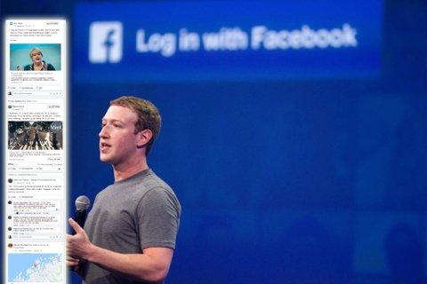 Facebook og toppsjef Mark Zuckerberg ruller ut et nytt system for å rangere nyhetsmedier.