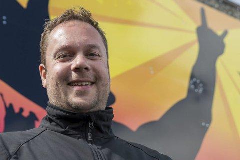 SPENNING: - Vi må ha litt spenning, sier festivalsjef Jon Arne Pettersen, om de neste artist- og bandslippene til Midnattsrocken.