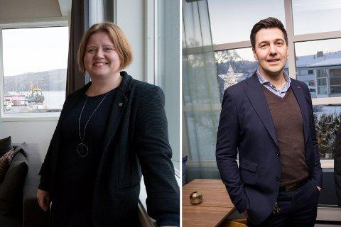 FULLE HUS: Linn Alexandersen og Jevgeni Mlinnikov får nok å gjøre om Arctic Race.