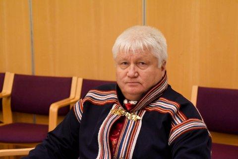 VIL HA FLYPLASS: Klemet Klemetsen ville ha fylkestinget med på å kreve flyplass til Kautokeino.