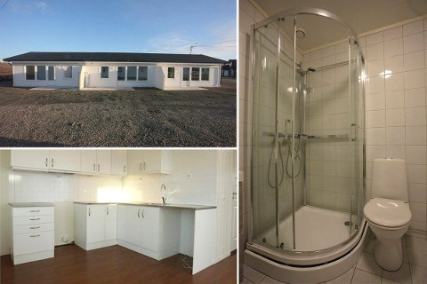 SELGER UNNA: For hver måned de tre leilighetene i Jankilaveien står ubebodd, taper Vadsø Utleieboliger 28.000 kroner i leie og strøm. Færre flyktninger gir mindre behov for boliger.