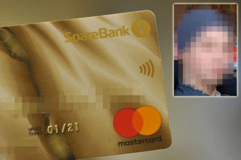 NYE GJERNINGER: «Mannen som ikke kan straffes» har spesialisert seg å misbruke andres kredittkort. Illustrasjon.