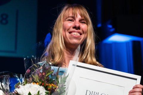 ÅRETS TALENT: Finnmarken-redaktør, Anniken Renslo Sandvik, er kåret til årets «Årets talent» av Medienettverket.