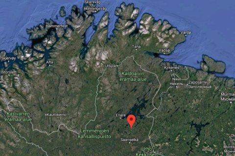FUNNET OMKOMMET: Far og datter funnet er funnet skutt i Ivalo.