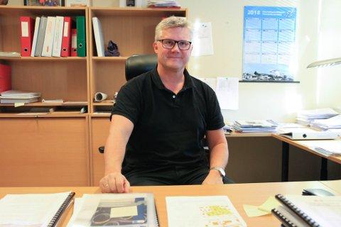 VIL BLI FERDIG: Daglig leder Geir Olav Næss gleder seg til Vadsø Vann og Avløp har betalt tilbake det de har tatt for mye i vannavgift, og med det kan legge en årelang sak bak seg.