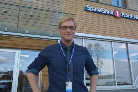 Banksjef i Sparebank 1 i Alta, Ulf Tore Isaksen.