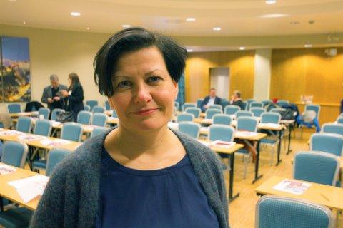 STERKT UENIG: Helga Pedersen er sterkt uenig med de seks ordførerne fra Ap som vil droppe å sende et prosessvarsel til regjeringa på tvangssammenslåingen av Troms og Finnmark.