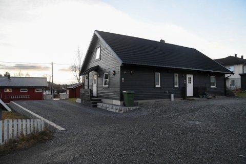 BOLIG: Tvisten har handlet om denne boligen i Alkeveien 25. Bildet er fra november 2018.