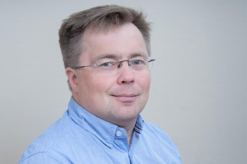 LEDER: Kent Ailo Hætta er kommunalleder i helse- og omsorgssektoren i Kautokeino kommune.