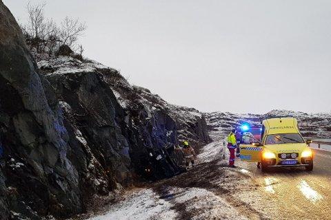 UVANLIG: Under denne ulykken i Nesseby i november var politiet framme før brannvesenet, men dette er ikke normalt viser statistikk.