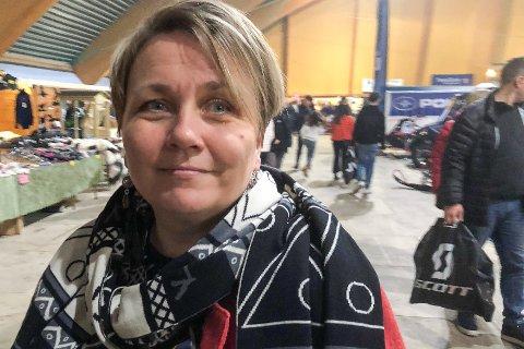 SLÅR TILBAKE: Aina Borch.