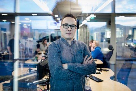 Robin Mortensen, distriktsredaktør NRK Finnmark.