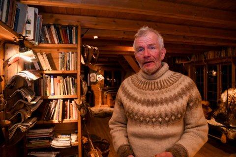 FIKK MERKE: Sven Engholm i Karasjok fikk merke koronasituasjonen. Her er han avbildet ved en tidligere anledning.