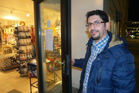 """2018: Høsten 2018 fant Abdul Abbara lokalet i sentrum av Hammerfest, hvor han vil starte bakeri; det tidligere """"Trines Smågodt"""""""