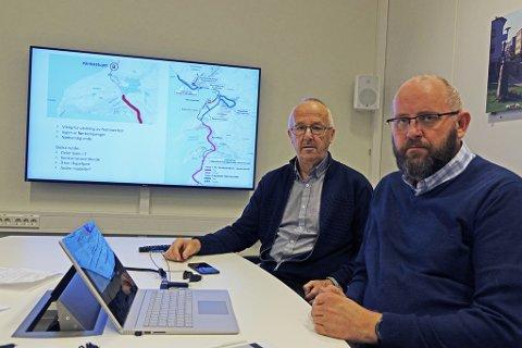 VIL KJEMPE VIDERE: Hammerfest Næringsforening mener det er på tide å se på grunnlaget for ny flyplass med andre øyne, skriver styreleder Arvid Jensen og direktør Espen Hansen i Hammerfest Næringsforening.