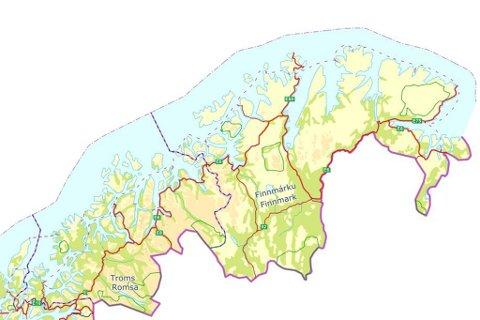 – Finnmark fylke, større enn Danmark i areal, men med en liten spredt befolkning, skal nå styres enda lenger bort fra her vi bor. Det skal sentraliseres og bespares, vi koster for mye, skriver Inger Elisabeth Nilsen.