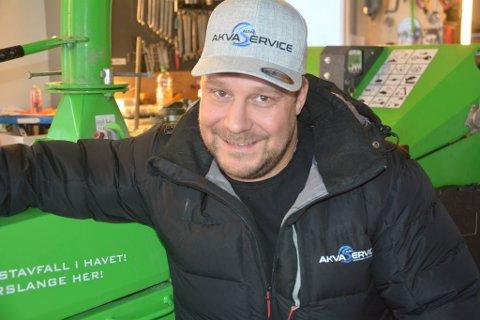 MANGE JERN I ILDEN: Siden 2014 har Ulf-Stian Andersen startet opp intet mindre enn tre ulike firmaer. Nå vil han satse på å minske plasten i havet.