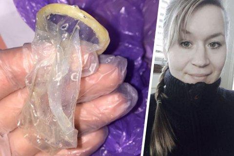 REDD: Janne Pedersen sier at hun ble livredd da hun oppdaget hva datteren (5) hadde i munnen.
