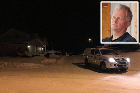 – UTRYGGHET OG USIKKERHET: Kommuneoverlege Erik Langfeldt skjønner at dobbeltdødsfallet skaper usikkerhet og utrygghet i befolkningen, men påpeker at det ikke er en dødsbakterie som herjer på Magerøya.
