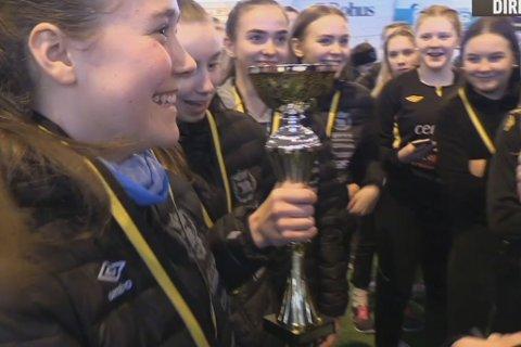 FOTBALLFEST: Se kampene og premieutdelinga fra helgas G. Hagen cup på nytt.