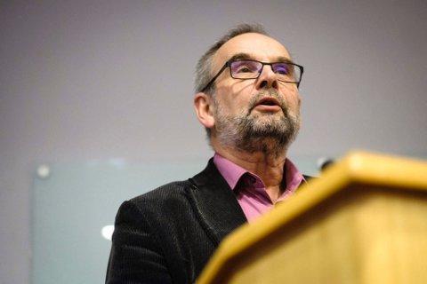 SIER SEG ENIG: Svein Iversen, gruppeleder Finnmark KrF, sier seg enig i avgjørelsen til KrF mandag.