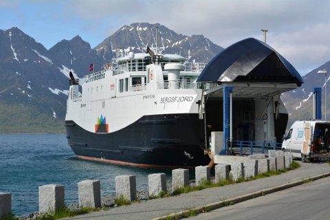 GASSDREVEN: Bergsfjord er en av fartøyene som går på gass.