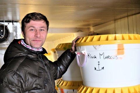 SKIPPER: Skipper Mikal Rafal Molnes gledet seg til første sjøvær med sitt nye fartøy i april 2018. Nå sliter han med konkursspøkelset hengende over seg og bedriften sin.