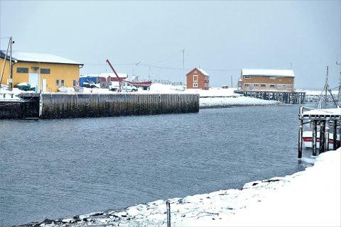 KAI: På østsiden av Jakobselva, i forlengelse av den kommunale kaia, er det meningen å utplassere 32 meter flytekai.