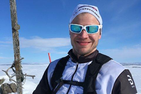 VANT: Tarjei Solli (28) har nettopp flyttet til Tana, men har rukket å markere seg i skisporet. I helga vant han Tana-Varanger-rennet.