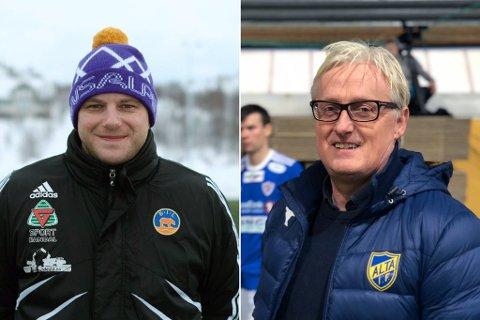 MØTES I 1. RUNDE. Bjørnevatn møter Alta i 1. runde av cupen. Se oppgjøret mellom lagene, og trenerne Anton Romanov og Bård Flovik, direkte på iFinnmark.no.